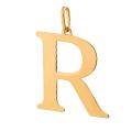 zawieszki złote literki